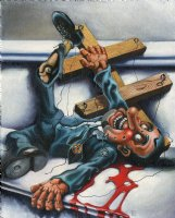 Unused Rolling Stone Magazine Cover Comic Art