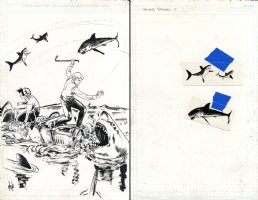Archie Vs. Sharknado Issue 1 Page Variant Cover Comic Art