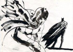 Batman Sketch - 1 Comic Art