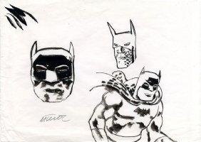 Batman Sketch - 5 Comic Art