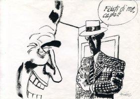Batman (Joker) Sketch - 8 Comic Art